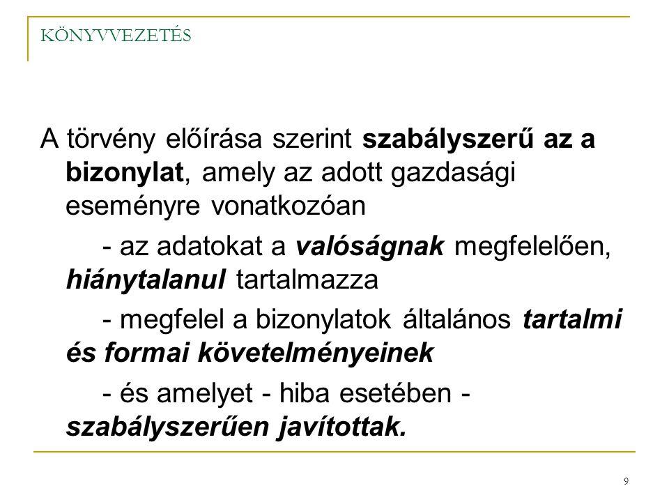 30 KÖNYVVEZETÉS 4.