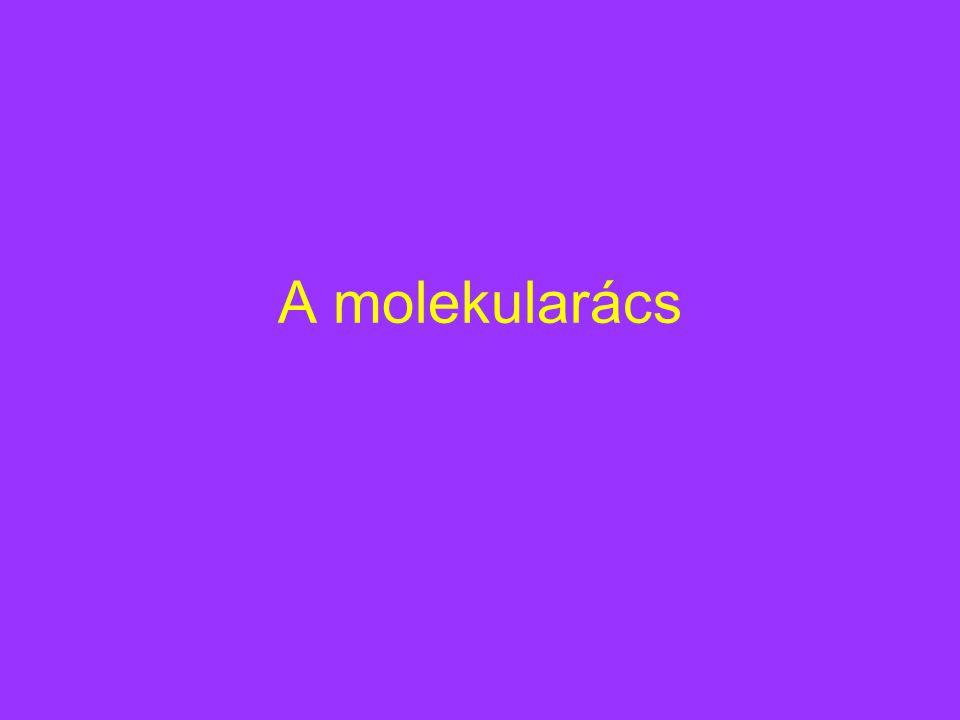 A molekularács