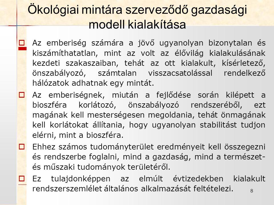 19 Rendszerszemléletű településüzemeltetés I.