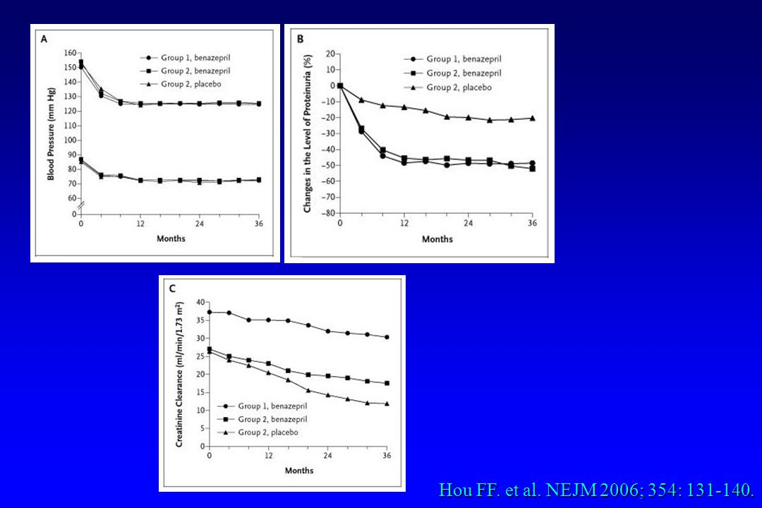 Hou FF. et al. NEJM 2006; 354: 131-140.