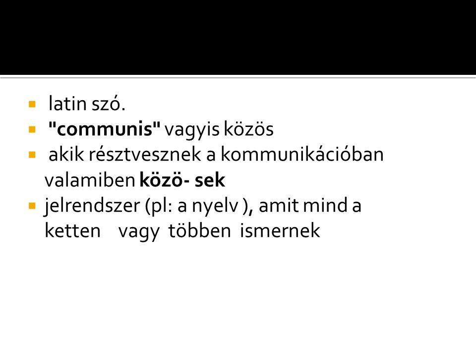  latin szó. 