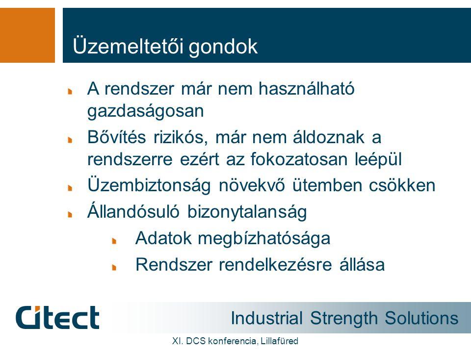 Industrial Strength Solutions XI. DCS konferencia, Lillafüred Ilyen volt