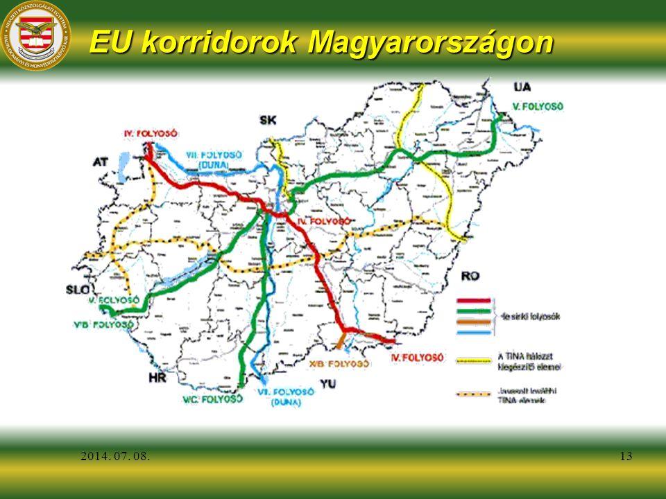 2014. 07. 08.13 EU korridorok Magyarországon