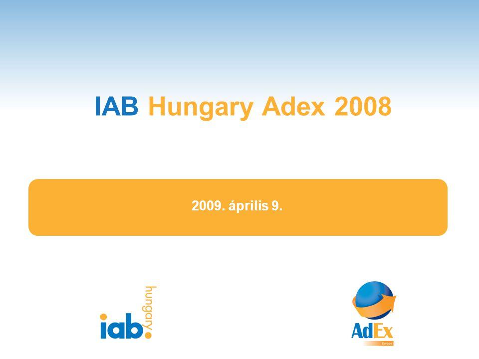 IAB Hungary Adex 2008 1 2009. április 9.