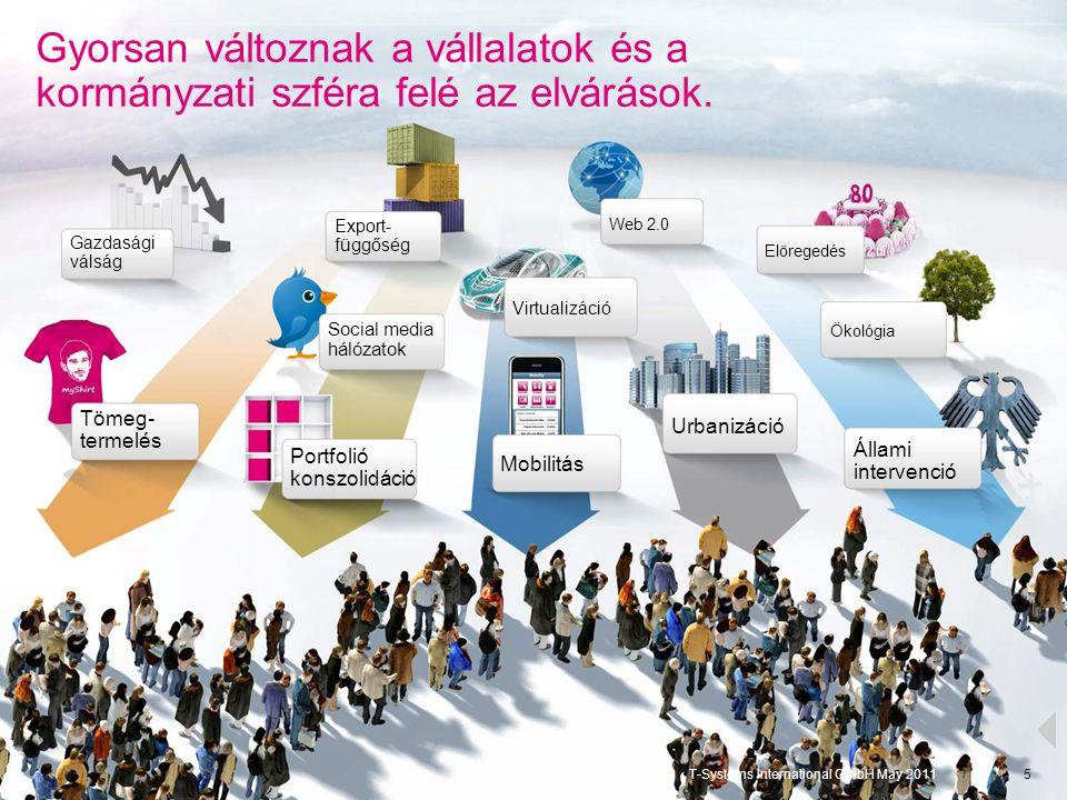 Gyorsan változnak a vállalatok és a kormányzati szféra felé az elvárások.