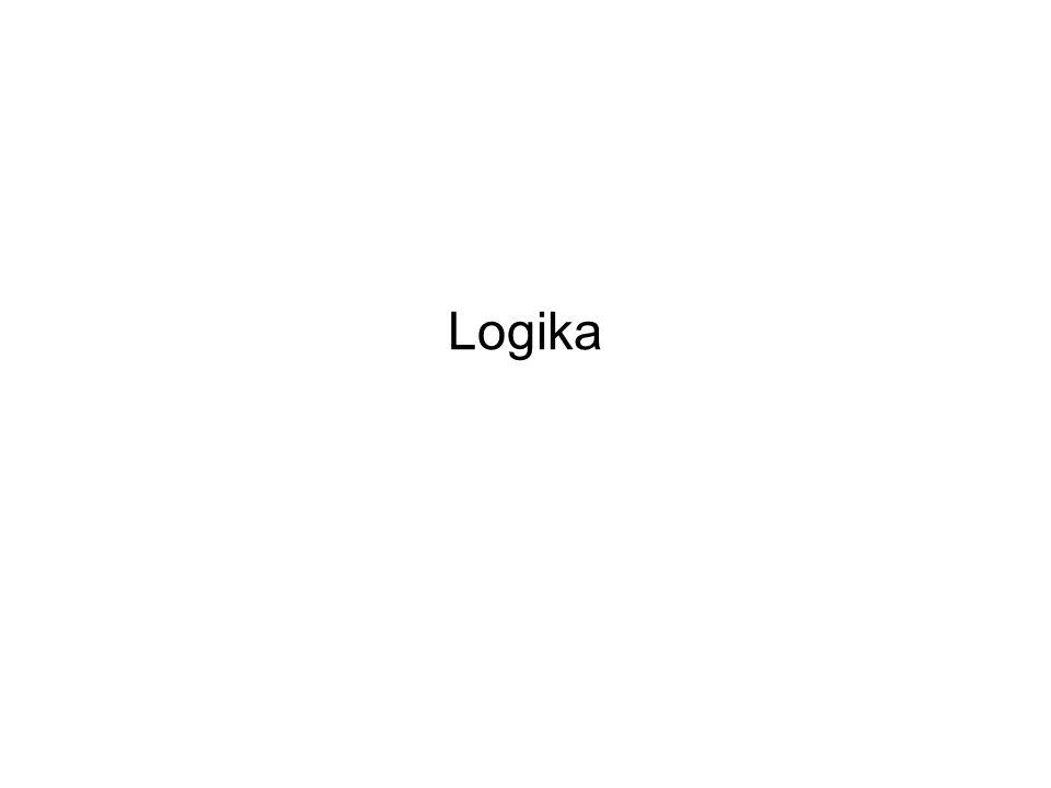 Ismétlés A logika tárgya A logika célja Mitől függ egy következtetés helyessége.