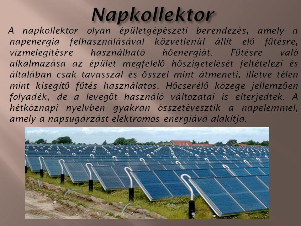Az alapvetően napenergia- eredetű, ezért megújulónak tekinthető /víz-körforgás/ vízenergia felhasználása több ezer éves múlttal rendelkezik.