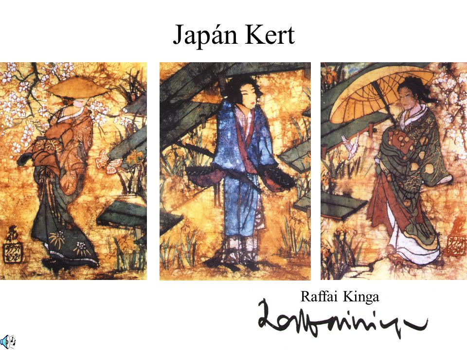 Japán Kert Raffai Kinga