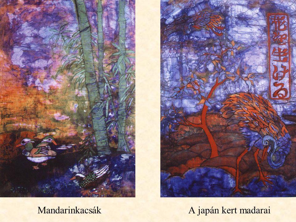 A japán kert madaraiMandarinkacsák
