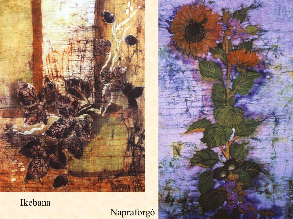 Ikebana Napraforgó