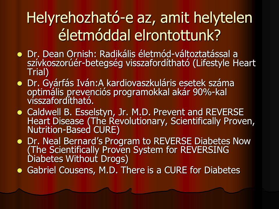 """A metabolikus szindróma (az egyik leggyakoribb anyagcsere- zavar – életmód-betegség A Nemzetközi Diabétesz Szövetség definiciója: """"Az MS civilizációs betegség, genetikai hajlam alapján, helytelen életmód és táplálkozás hatására lappangva, tünetszegényen kialakuló progresszív anyagcserezavar (cukor-intolerancia, kóros zsíranyagcsere, felgyorsult véralvadás), magas vérnyomás, alma formájú elhízás, amely az inzulinrezisztencia és ennek talaján kialakuló hiperinzulinémia következtében érlelmeszesedéses elváltozásokat idéz elő és korai halálozáshoz vezet. A Nemzetközi Diabétesz Szövetség definiciója: """"Az MS civilizációs betegség, genetikai hajlam alapján, helytelen életmód és táplálkozás hatására lappangva, tünetszegényen kialakuló progresszív anyagcserezavar (cukor-intolerancia, kóros zsíranyagcsere, felgyorsult véralvadás), magas vérnyomás, alma formájú elhízás, amely az inzulinrezisztencia és ennek talaján kialakuló hiperinzulinémia következtében érlelmeszesedéses elváltozásokat idéz elő és korai halálozáshoz vezet."""
