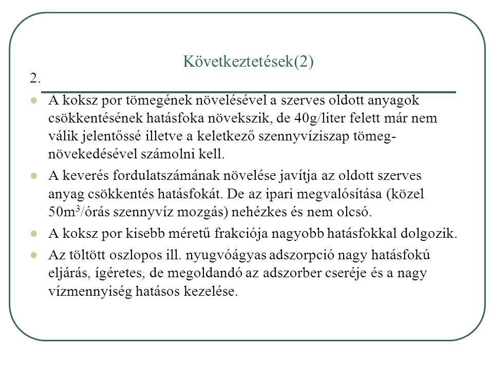 Következtetések(2) 2.