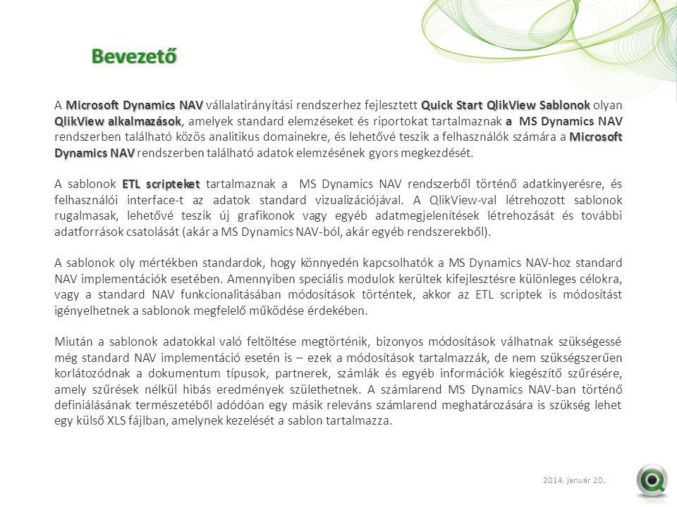 2012 szept. 20.. Microsoft Dynamics NAVQuick Start QlikView Sablonok QlikView alkalmazások Microsoft Dynamics NAV A Microsoft Dynamics NAV vállalatirá