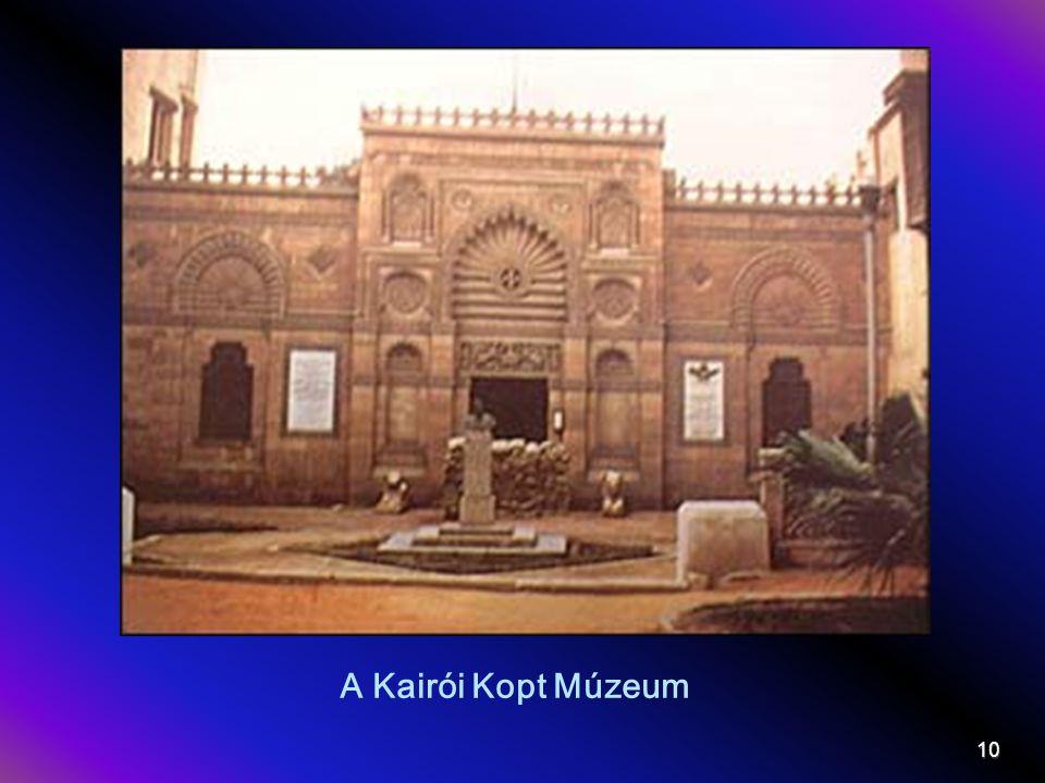 A Kairói Kopt Múzeum 10