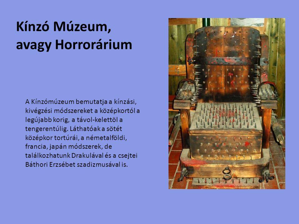 A kiállító teremben, az Országház makettje tekinthető meg, amely 7,5 méter hosszú, 2,5 méter magas, és közel 4,5 millió megkövült (28 millió éves) pannon-tengeri csigából készült.
