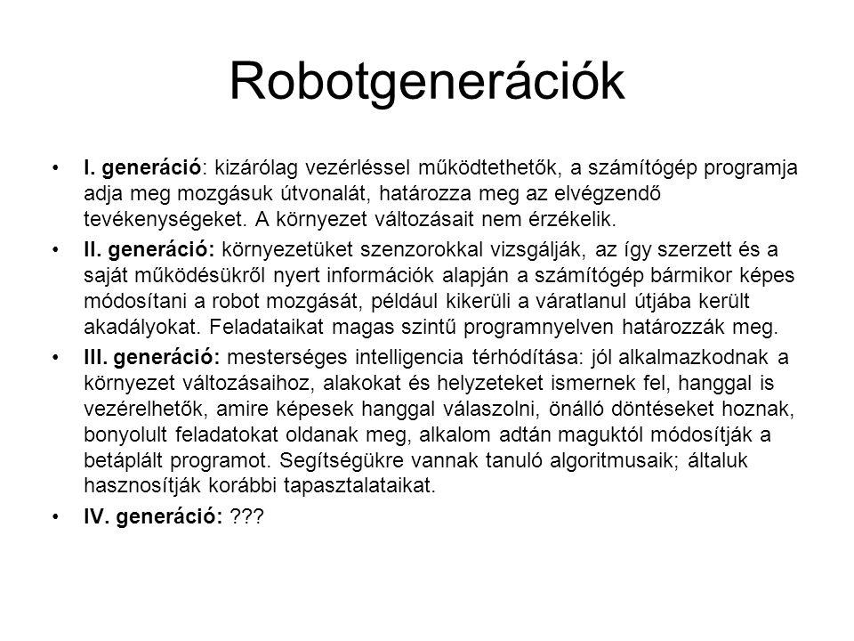 Robotgenerációk I.