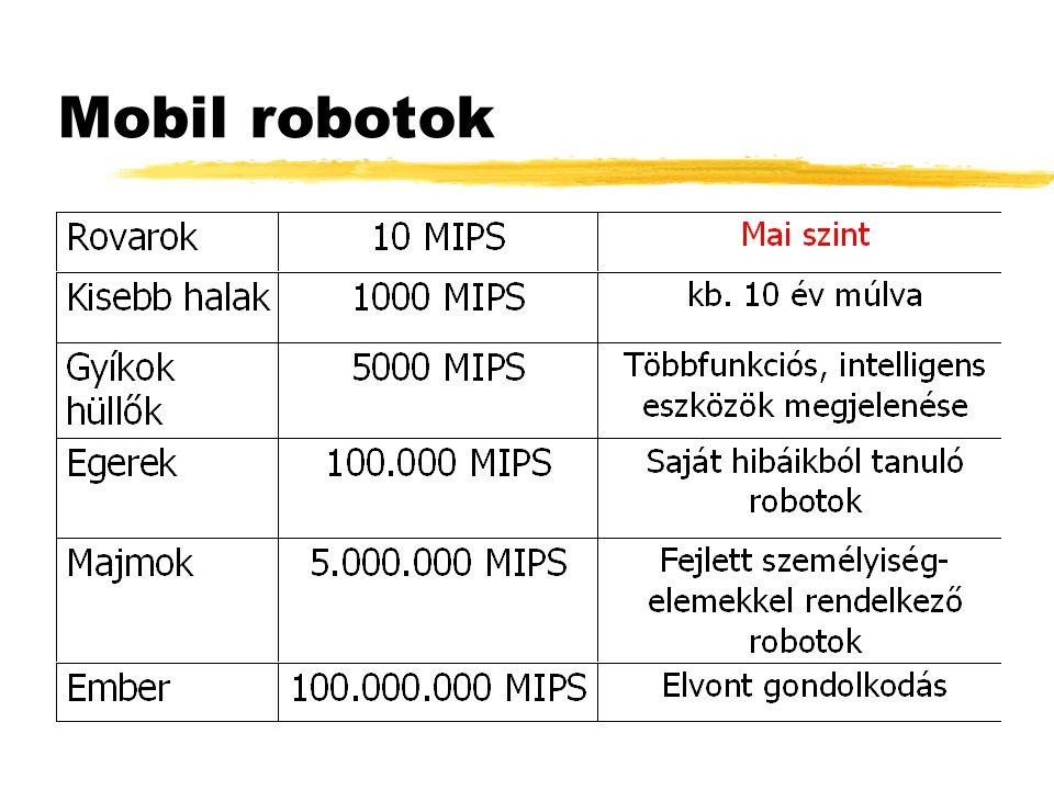 Mobil robotok