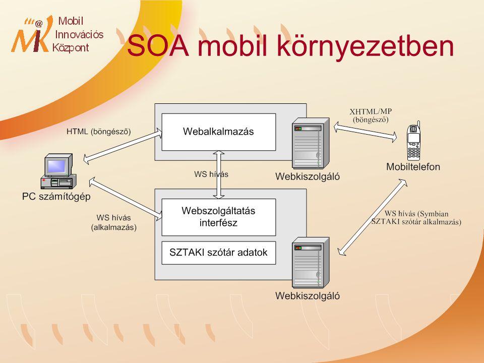 SOA mobil környezetben