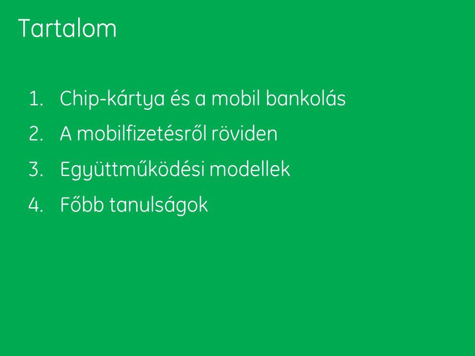 Tartalom 1. Chip-kártya és a mobil bankolás 2. A mobilfizetésről röviden 3. Együttműködési modellek 4. Főbb tanulságok