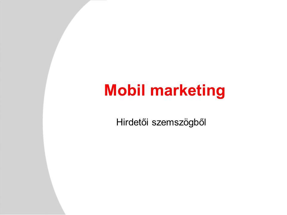 Mobil marketing Hirdetői szemszögből