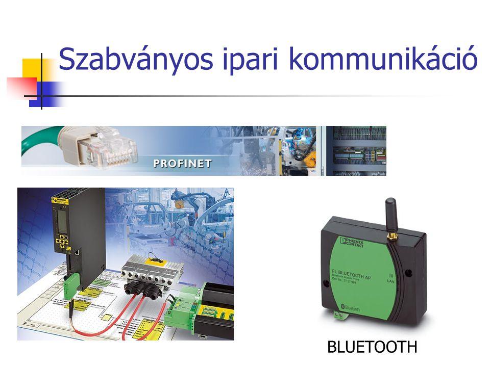 Szabványos ipari kommunikáció BLUETOOTH