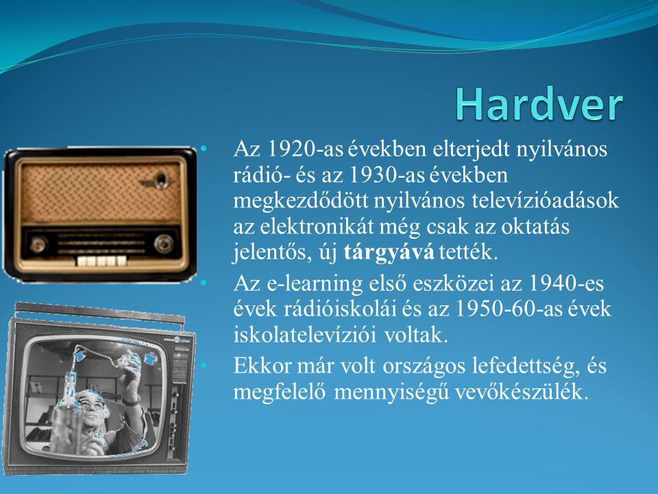 Az 1920-as években elterjedt nyilvános rádió- és az 1930-as években megkezdődött nyilvános televízióadások az elektronikát még csak az oktatás jelentő