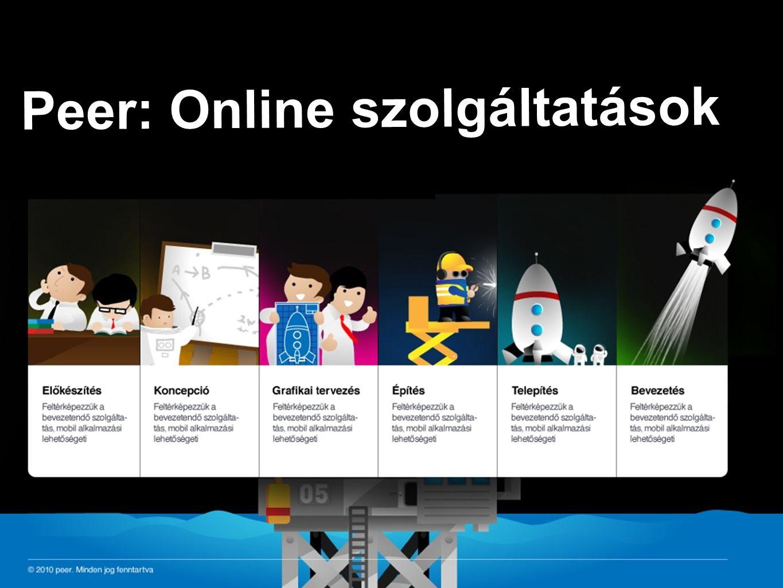 Peer: Online szolgáltatások