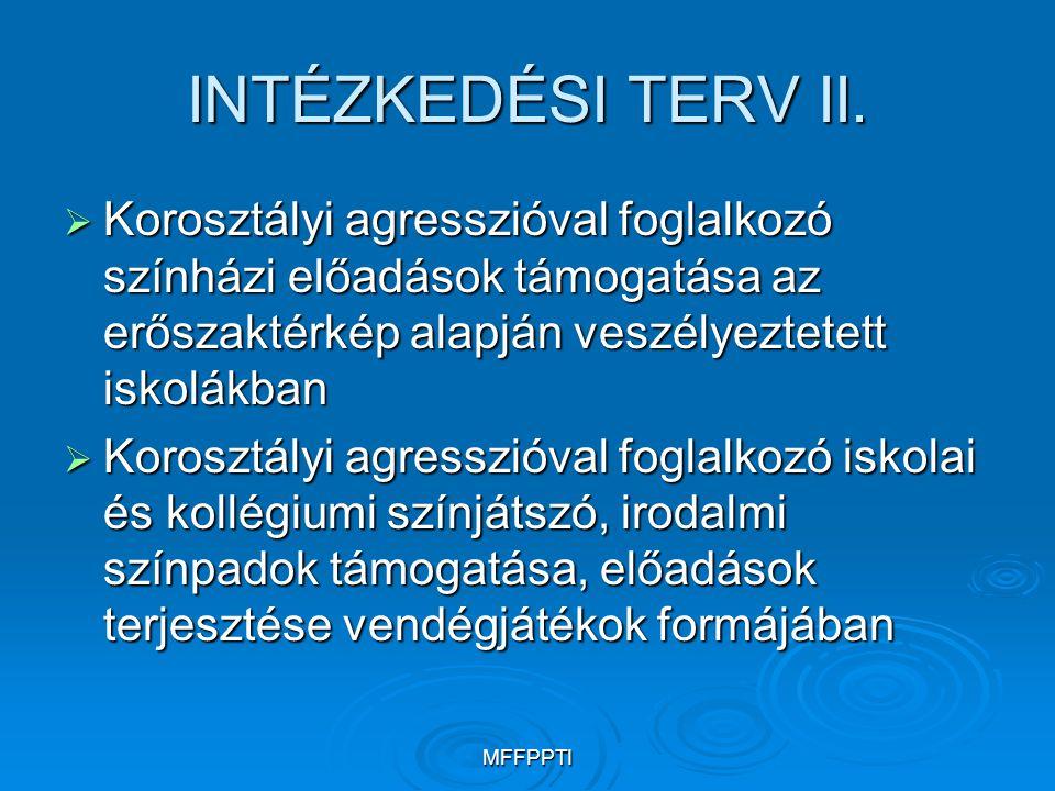 MFFPPTI CIVIL SZERVEZETEK az iskolai agresszió kezelésében VI.