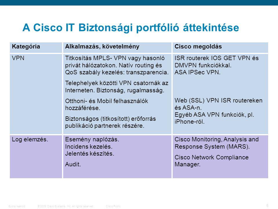 7 © 2009 Cisco Systems, Inc.