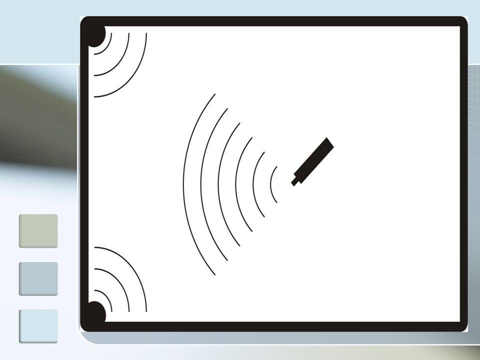 TÁBLA ESZKÖZÖK Egyszerű tollak Nincs egyéb funkciójuk, minthogy a tábla megérintésekor egy jelet adjanak, amit a vevőegység érzékel.