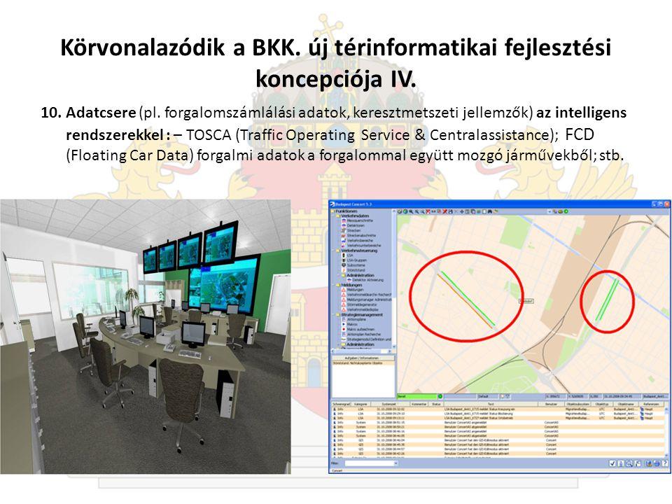 Körvonalazódik a BKK.új térinformatikai fejlesztési koncepciója IV.