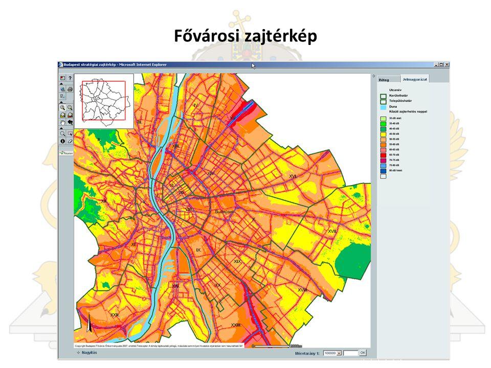 Fővárosi zajtérkép
