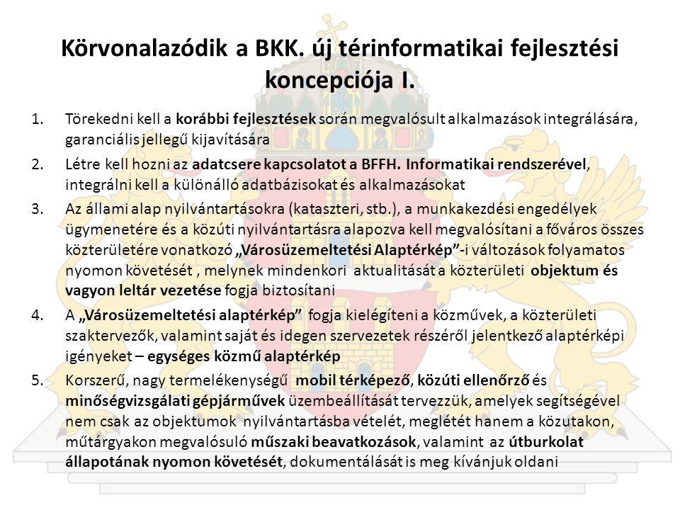 Körvonalazódik a BKK.új térinformatikai fejlesztési koncepciója I.