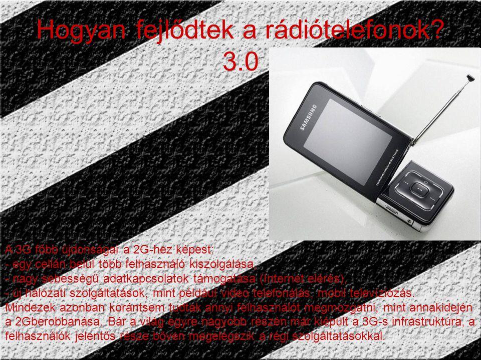 Hogyan fejlődtek a rádiótelefonok.