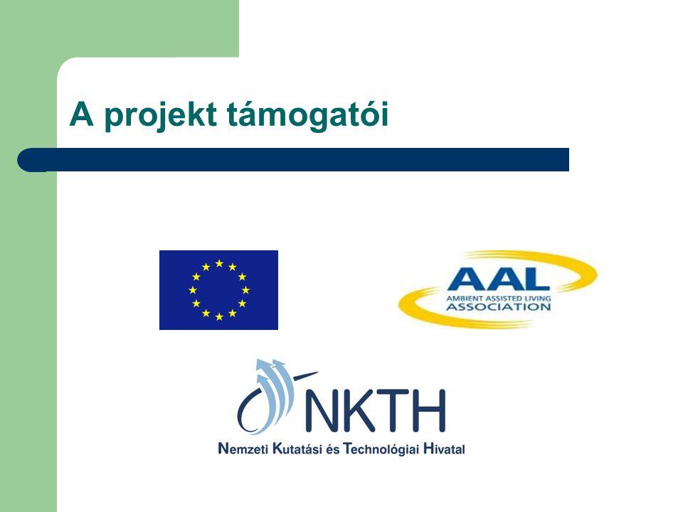 A projekt támogatói