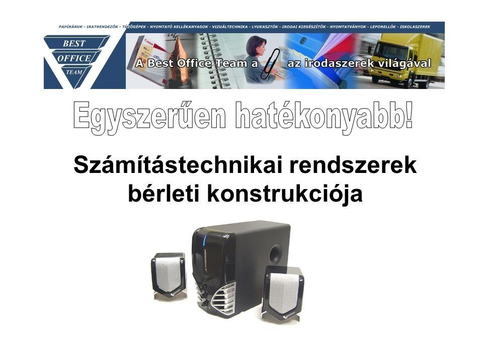 Számítástechnikai rendszerek bérleti konstrukciója