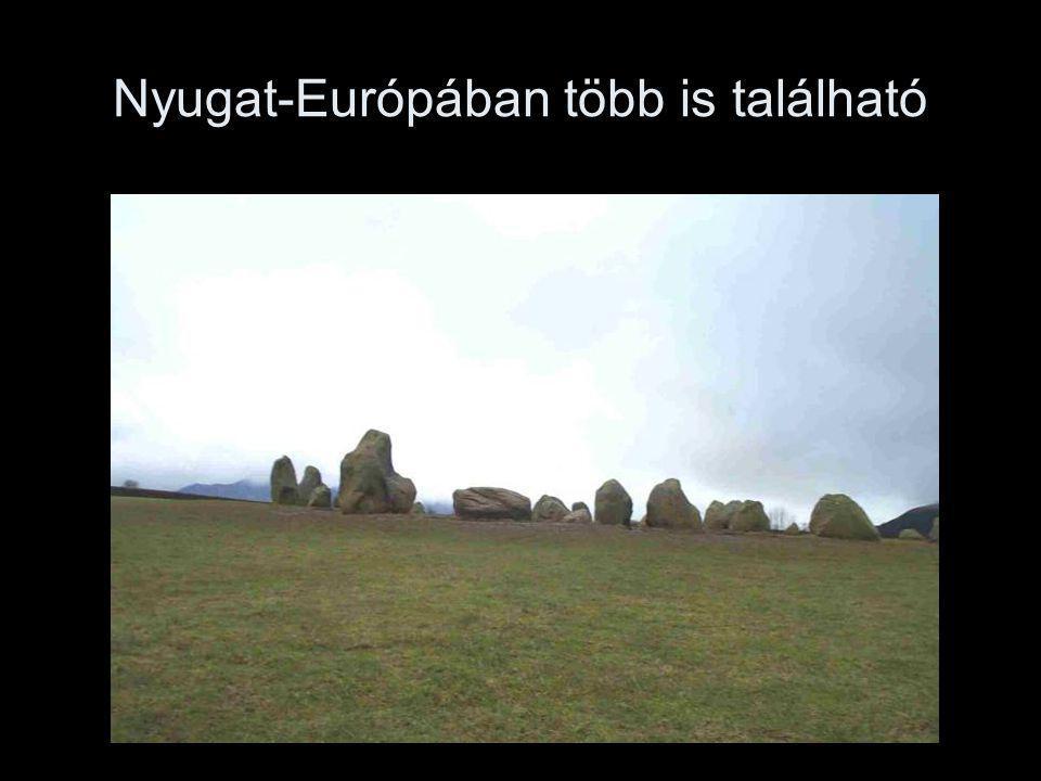 Nyugat-Európában több is található
