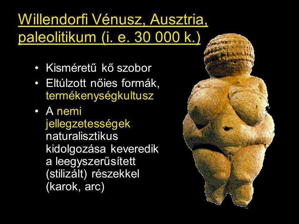 Willendorfi Vénusz, Ausztria, paleolitikum (i.e.