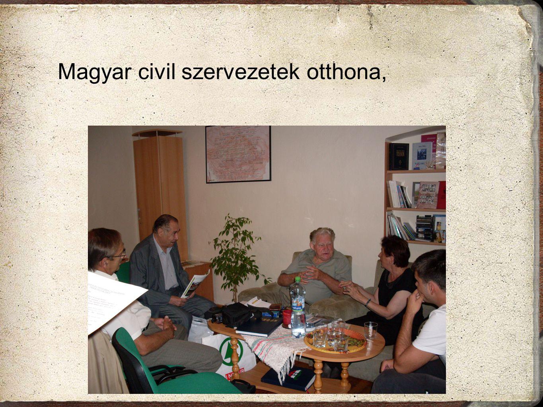 Magyar civil szervezetek otthona,