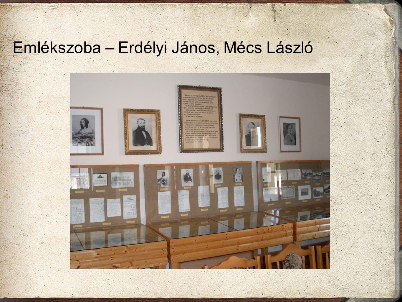 Emlékszoba – Erdélyi János, Mécs László