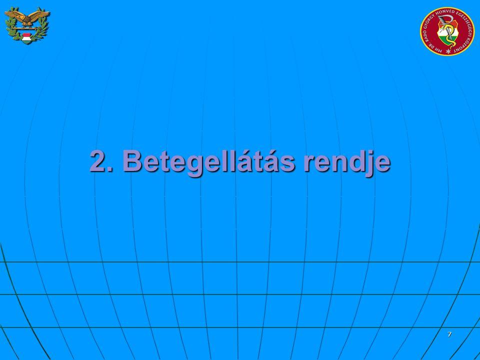 18 Vizitdíj, Napidíj Rászorulók támogatása: Rászorulók támogatása: 300 vagy 200 Ft 2007.