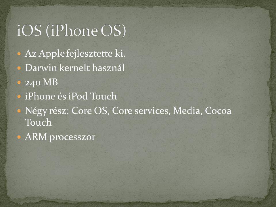 Az Apple fejlesztette ki.