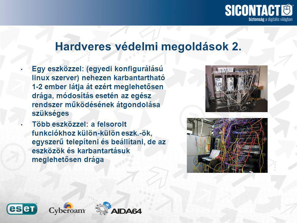 Hardveres védelmi megoldások 2.