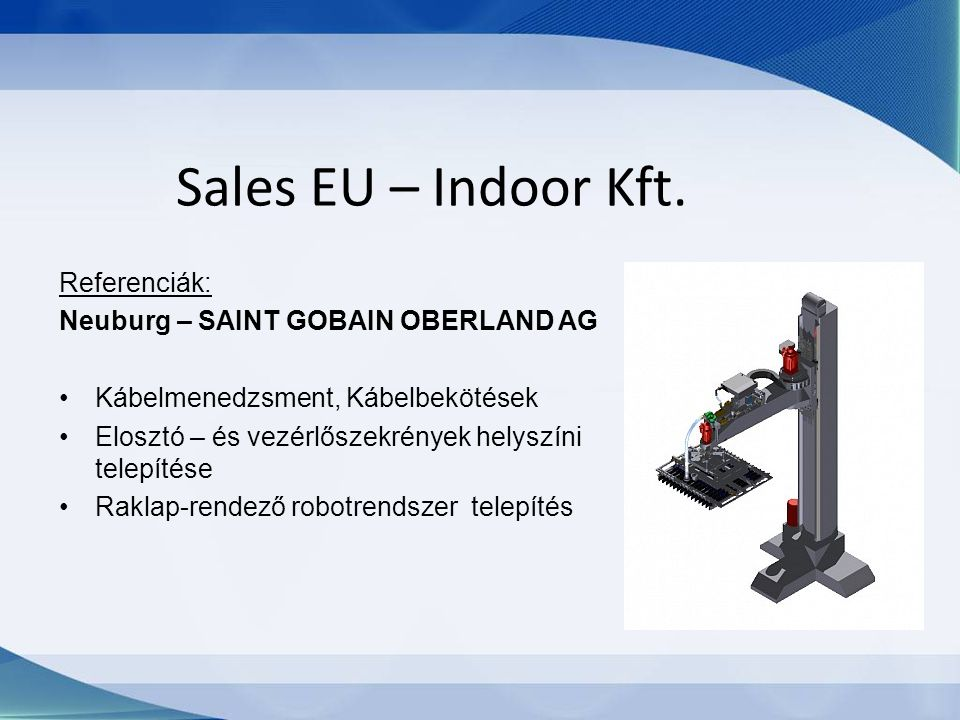 Sales EU – Indoor Kft.