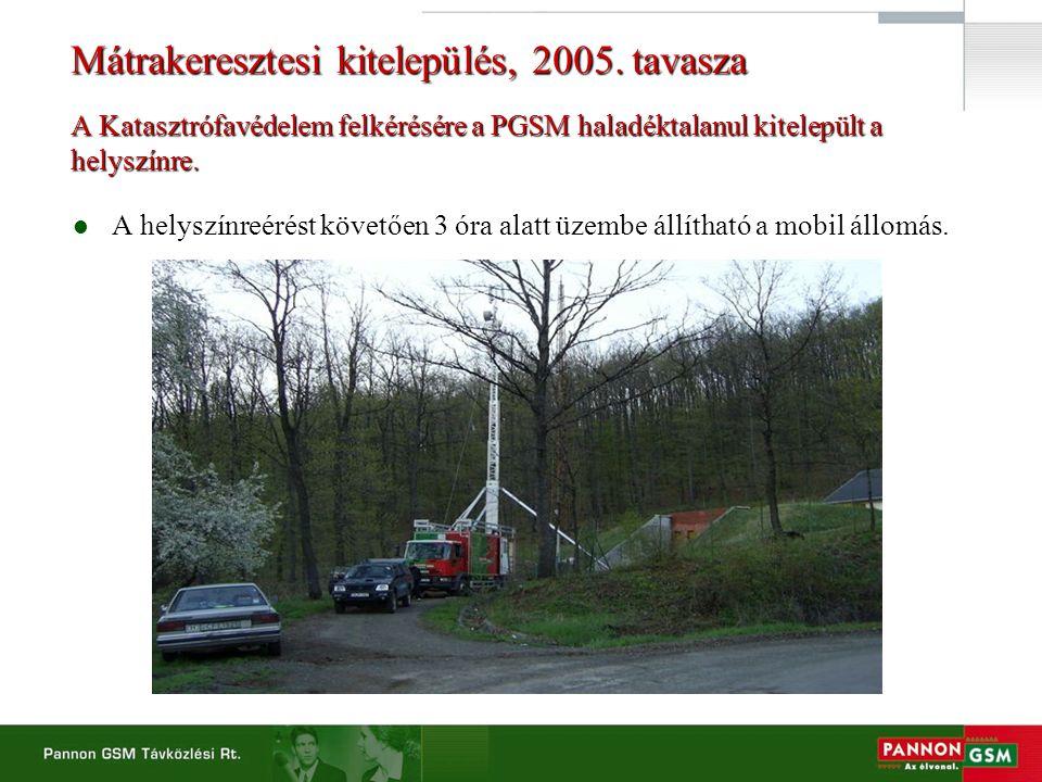 Mátrakeresztesi kitelepülés, 2005.
