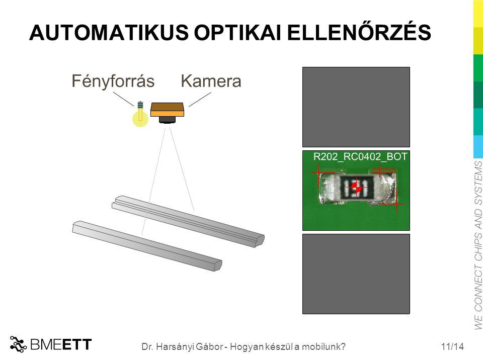/14 AUTOMATIKUS OPTIKAI ELLENŐRZÉS 11 Dr. Harsányi Gábor - Hogyan készül a mobilunk