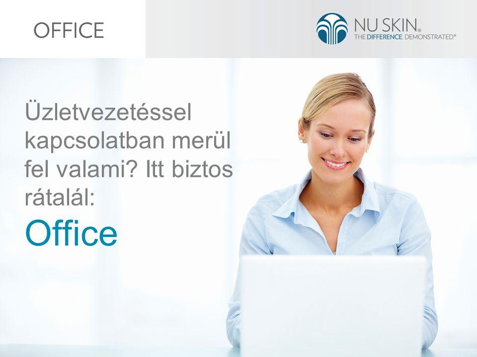 Üzletvezetéssel kapcsolatban merül fel valami Itt biztos rátalál: Office