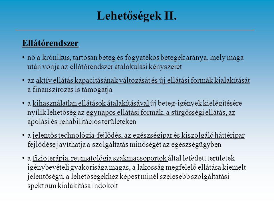 Lehetőségek II.