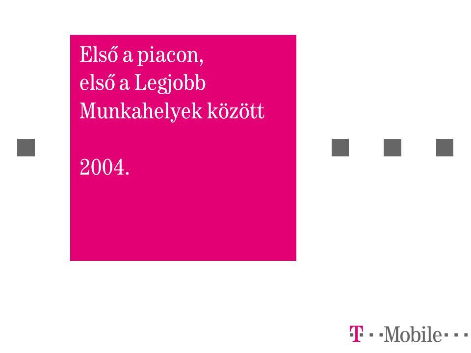 Első a piacon, első a Legjobb Munkahelyek között 2004.