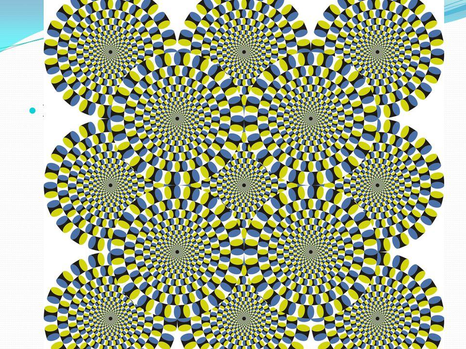 Különféle hipnotikus képeket is lehetett találni.